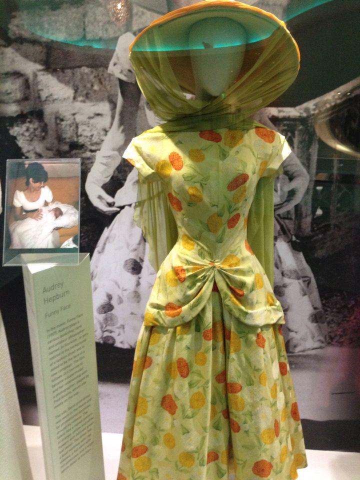 Audrey Hepburn - Iconic summer dress and hat at Newbridge Silver , Kildare, Ireland