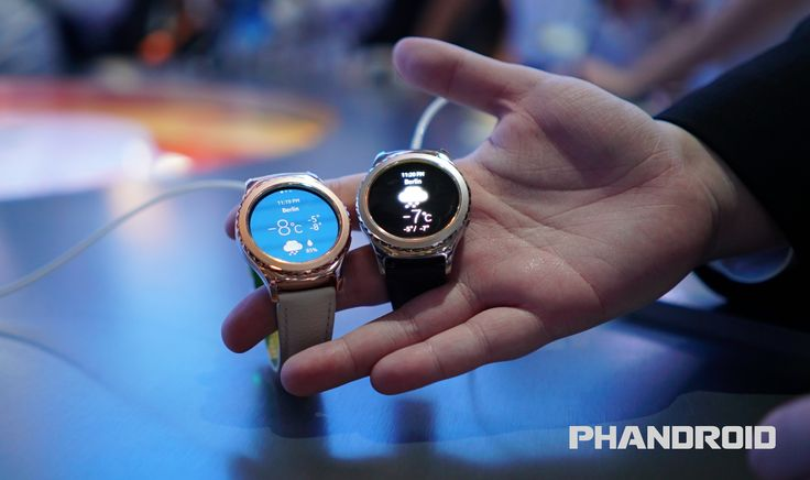Hands-on: Samsung Galaxy Gear S2 Platinum and Rose Gold [VIDEO] - http://authoritywearables.com/hands-on-samsung-galaxy-gear-s2-platinum-and-rose-gold-video