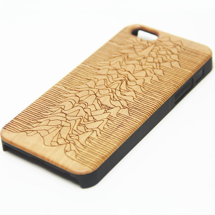 Joy Division Unknown Pleasures Wood Engraved iPhone 6s Case iPhone 6 Case iPhone 6s 6 Plus Cover Natural Wooden iPhone 5s 5 Case Samsung Galaxy S6 S5 Case D116