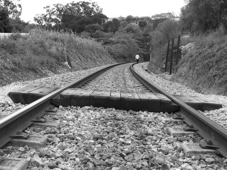 Ao longo da linha, Sapataria, Sobral de Monte Agraço, Autor: Nelson Gaspar