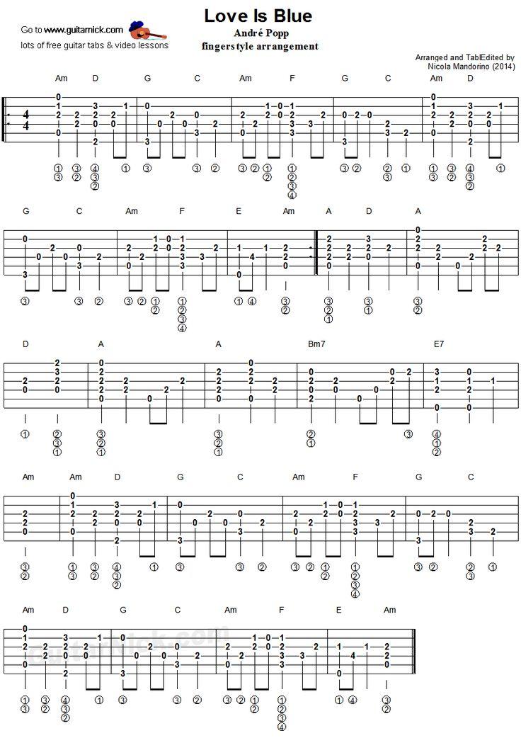 fingerstyle blues guitar tabs pdf