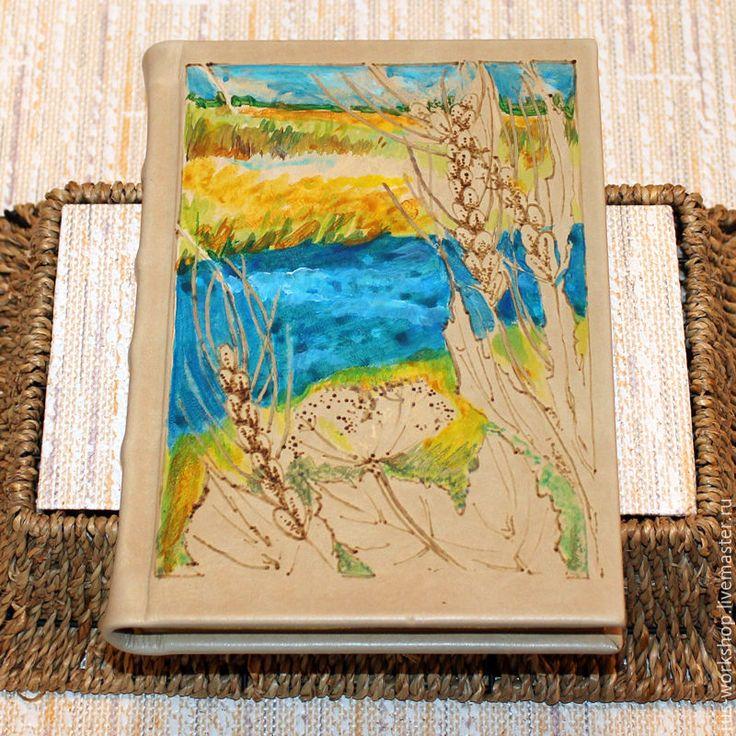 Купить Ежедневник из кожи Осень - комбинированный, ежедневник, ежедневник ручной работы, ежедневник в подарок