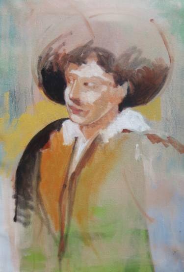 "Saatchi Art Artist Gerald Ross; Painting, ""Ragazzo Toscana"" #art"