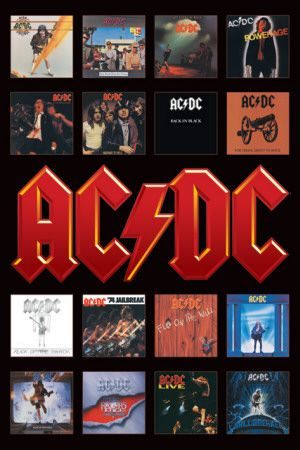AC/DC ~ Album covers