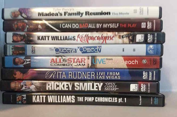 Standup Comedy Collection 6 DVDs Plus 2 Madea Plays By Tyler Perry Laugh Tonight
