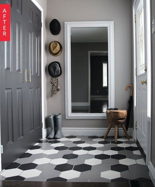 Before & After: A Foyer Full of Style | Apartment Therapy