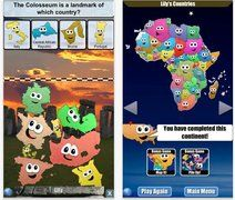 Stack the Countries is a cute game for iOS devices that teaches children the layout of the world map, the shapes of countries, where they fit within the world and relevant facts about each country.
