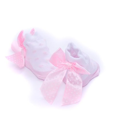 pink bow socks - The Supermums Craft Fair