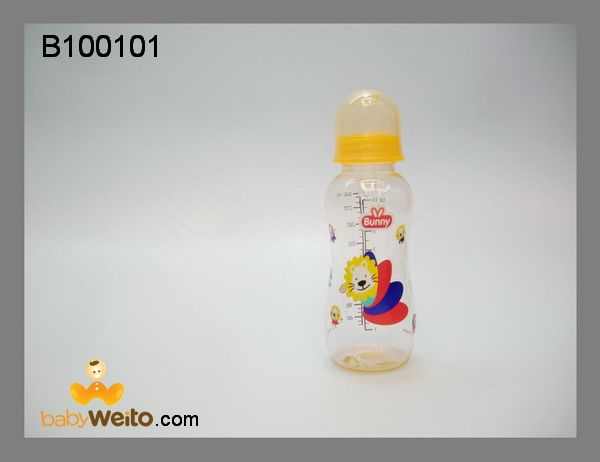 B100101  Botol susu gambar mix  BPA Free  ukuran: 300ml  warna sesuai gambar  IDR 50*