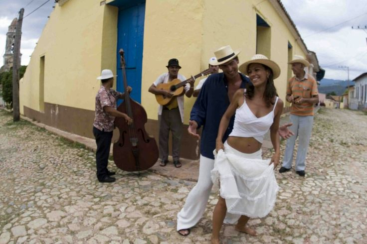 Music and dance, that is live in Cuba.