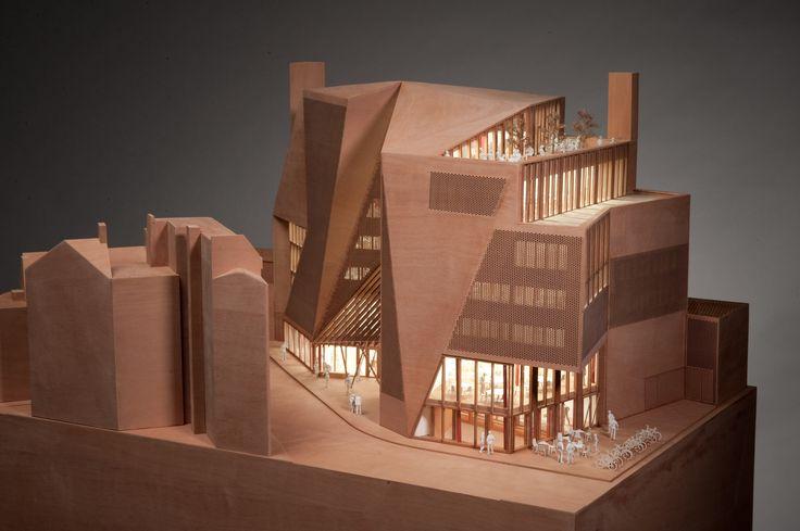 LSE Saw Hock Student Centre,Model