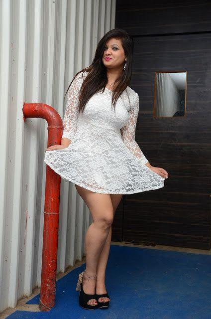 Telugu Actress Himani Hot Thighs Show Stills Cine South