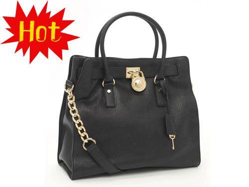 MK bags outlet bags outlet online Hamilton Black Large Tote $69.95