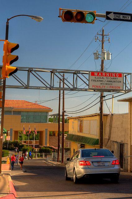 The route to Mexico - Laredo, Texas