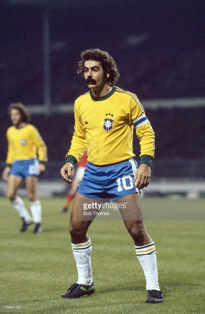 Happy Birthday to #Rivelino   #BOTD in 1946.    1965-1974 #Corinthians 471 apps,141  goals  1974-1978 #Fluminense 158 apps,53 goals  1978-1981 #AlHilal 57 apps,23 goals  1965-1978 #Brazil national team 92 apps,26 goals