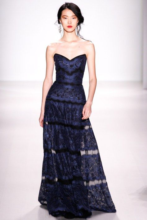 Tadashi Shoji AW2014 at NYFW - eveningwear