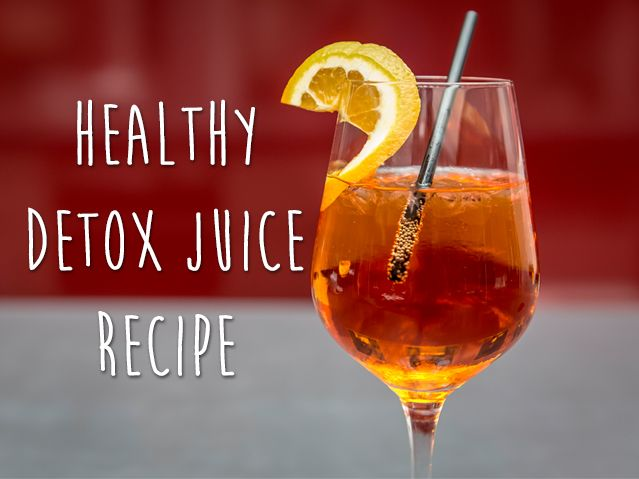 Healthy detox juice that helps you lose belly fat!