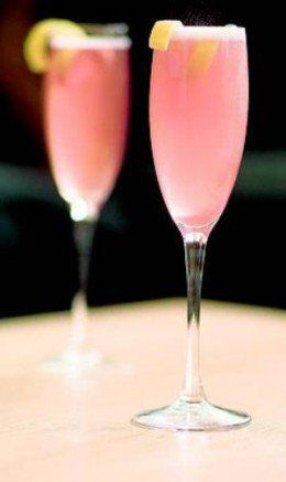 10) Easy Peazy Bellini   2 oz Peach juice or Peach Puree   4-6 oz Chilled Champagne   garnish with fresh raspberries   9) Chamord & Champagne   4-6 oz Chilled Champagne   ½ oz Chambord raspberry liqueur   8) Uptown Mimosa   4 oz Chilled Champagne  ...
