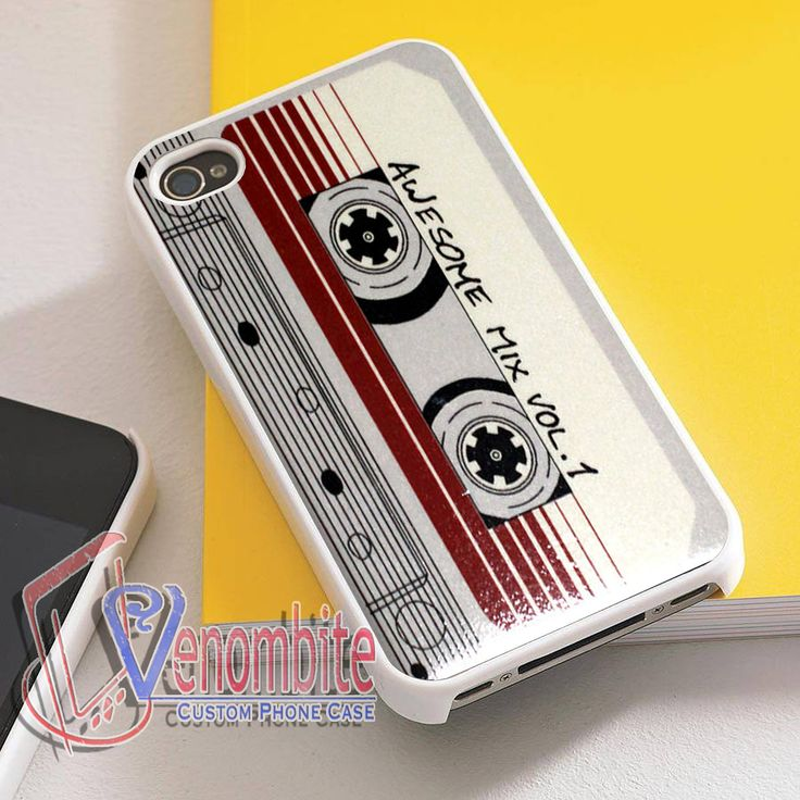 Guardians of The Galaxy Awesome Mix Vol 1 Cassette Retro For iPhone 4/4s Cases, iPhone 5 Cases, iPhone 5S/5C Cases, iPhone 6 cases & Samsung Galaxy S2/S3/S4/S5 Cases
