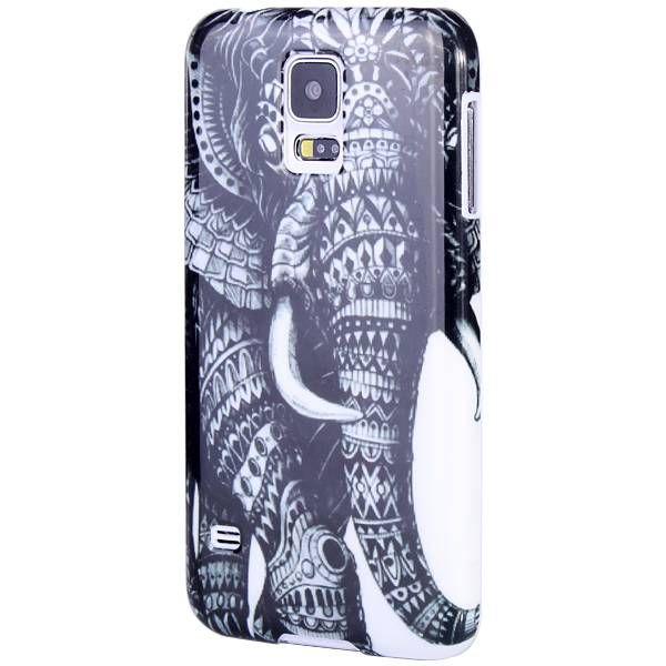 Samsung Galaxy S5 olifant hard case telefoon hoesje - PhoneGeek.nl