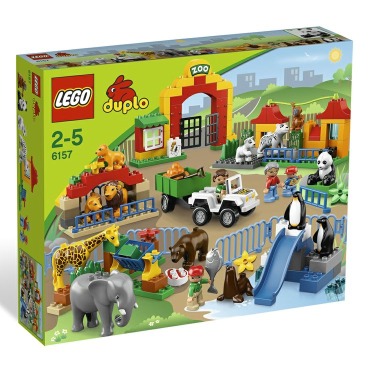 LEGO Duplo grote dierentuin 6157 | Bart Smit € 89,99