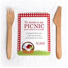 Invitación Fiesta Picnic