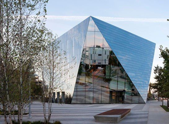 Farshid Moussavi's Museum of Contemporary Art Cleveland : Architectural Digest