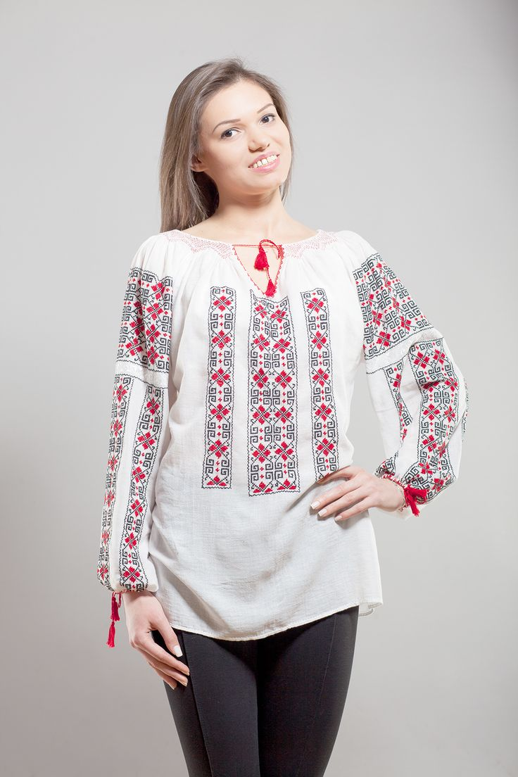 Ie romaneasca Maria5 - Chic Roumaine #romanianblouse #lablouseroumaine