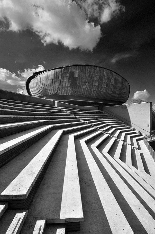 Auditorium Parco della Musica by Renzo Piano