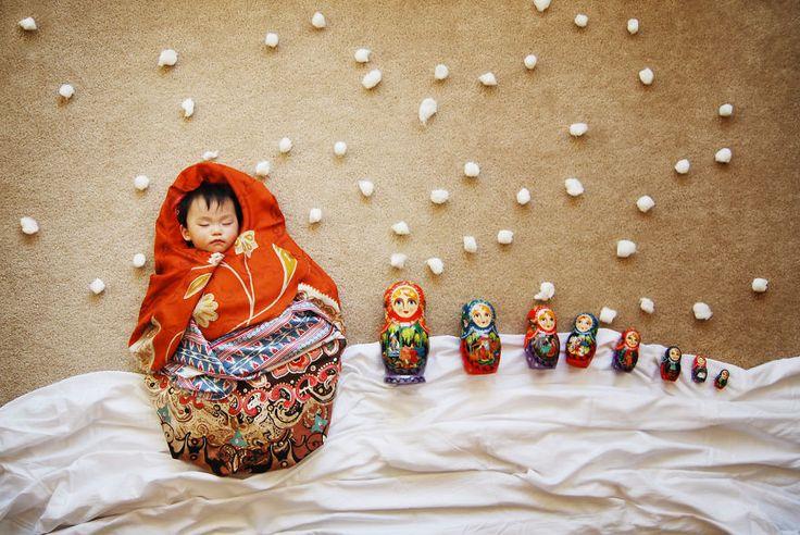 Baby Dream Photography - Bebeklerin rüya alemi fotoğrafları, süper yaratıcı:)