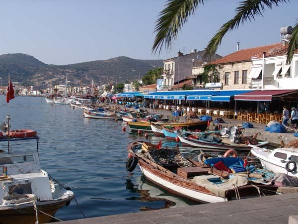Foca, a small fishing village close to Izmir.