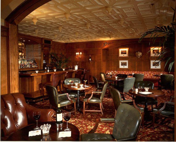 The Oak Bar Located In Hermitage Hotel Was Voted One Of 20 Best Bars America By Mens Journal