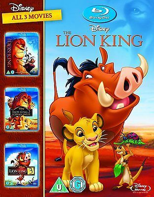 The lion king 1-3 blu-ray 1994 #childrens #region free #***new*** ,  View more on the LINK: http://www.zeppy.io/product/gb/2/152220019095/