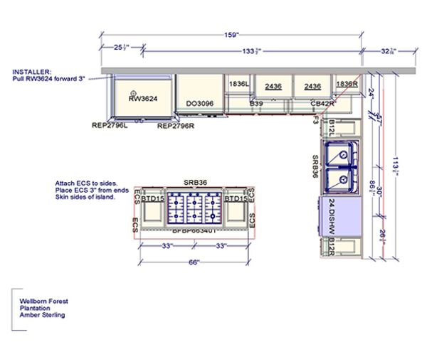 1000 images about kitchen floor plans on pinterest