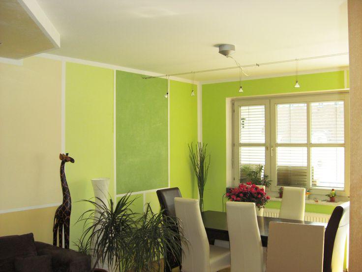 Die besten 25+ Wandgestaltung streifen Ideen auf Pinterest  Wandgestaltung streifen ideen, Wand ...