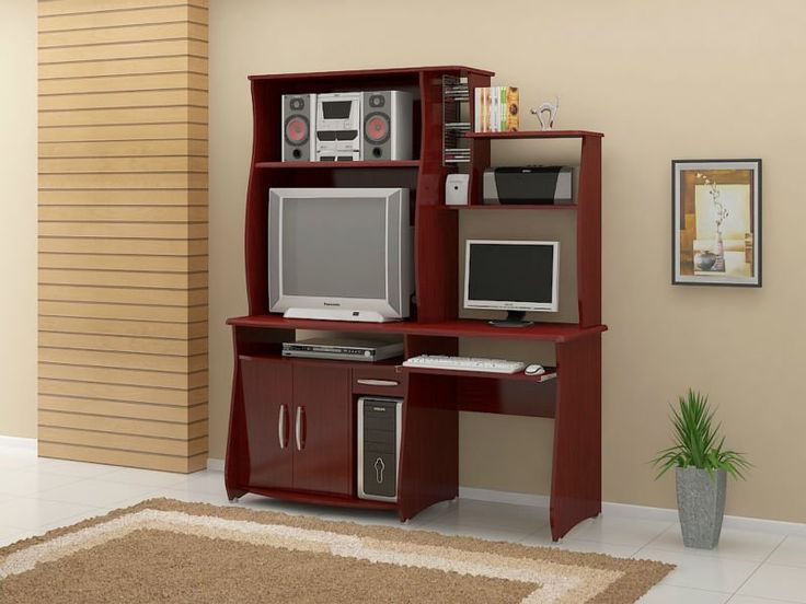 Best 25 muebles para computadora ideas on pinterest for Muebles para espacios reducidos