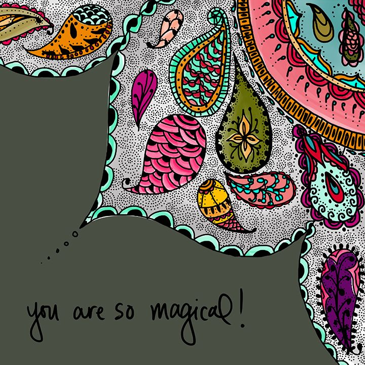 You really are! Art by Esther Sanchez