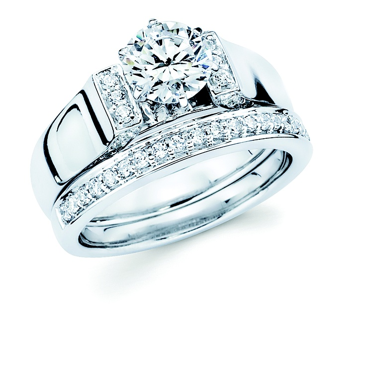 39 best images about Wedding/Bridal Rings on Pinterest   Diamond ...
