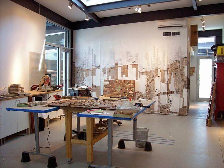 Fontaine Austin Art Studio Tours   Blog Archive   Tour Nineteen. 17 Best images about atelier ideas on Pinterest   Easels  Art