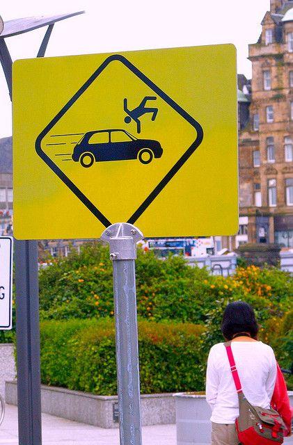 High cognitive effort. A warning sign that makes no sense.