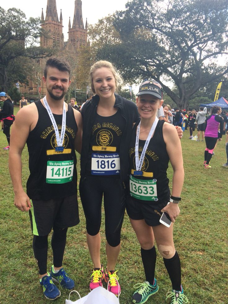 Completed the SMH Half Marathon and met some other stoked Skins recruits!!