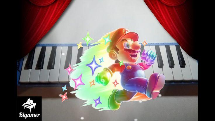 Tutorial Mario Bros Star Man Piano Melodico En 2020 Melodicos