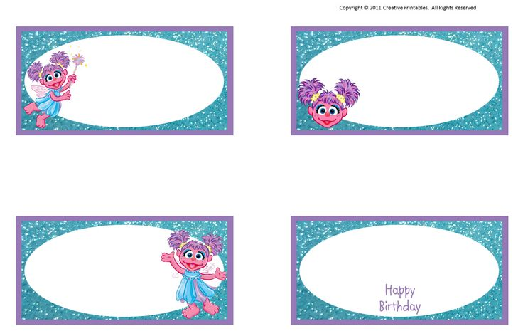 75 Best Abby Cadabby Printables Images On Pinterest