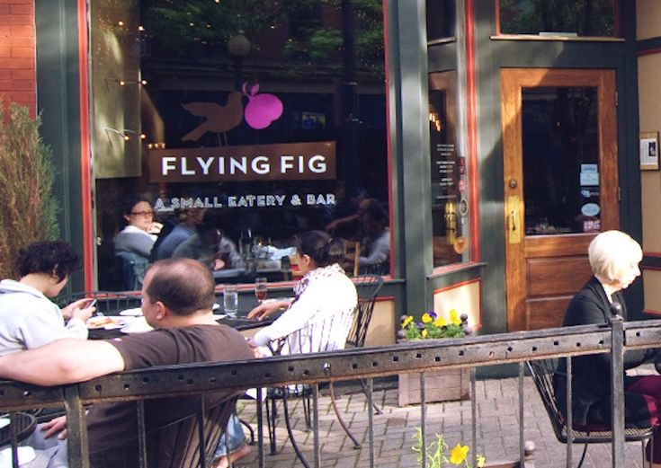 The Flying Figrestaurant features locally-sourced cuisine, and offers a great happy hour as well as Sunday Brunch.    2523 Market Avenue, Cleveland, Ohio 44113. 216-241-4243.theflyingfig.com.