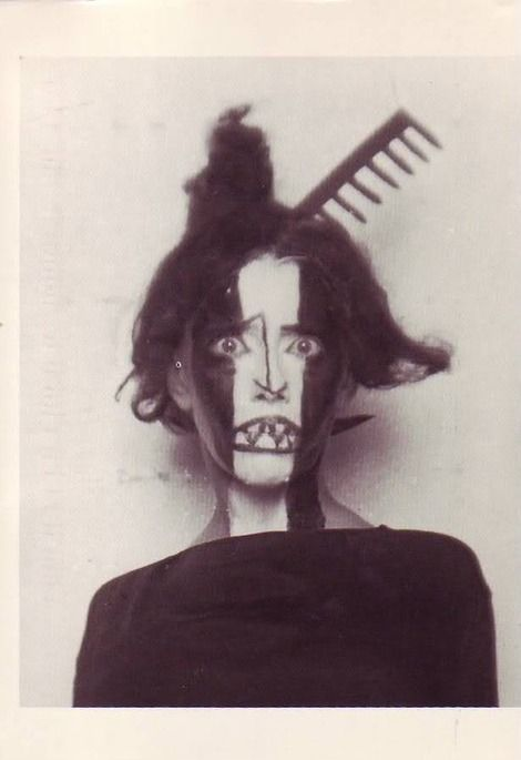 PERFORMANCE ART Man Ray, Dancer Bronislava Nijinska, 1922 Surrealist Film maker, Photographer Artist.