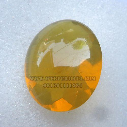 Batu Fire Opal Faset