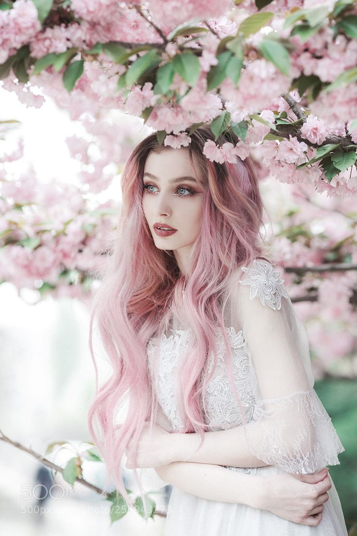 меня, розовые волосы фотосессия помощью можно только