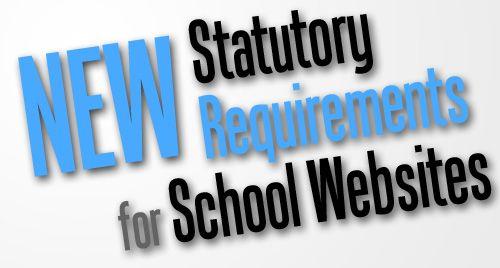 Statutory Requirements for School Websites