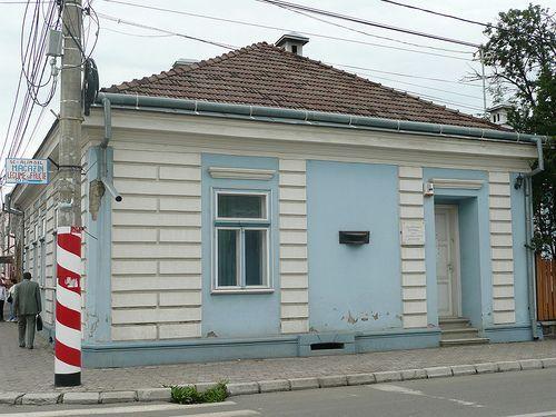 Nobel Prize winner Ellie Wiesel birth place. Sighetul Marmatiei, Romania.  www.romaniasfriends.com
