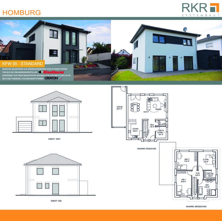 RKR Systembau GmbH präsentiert Ihnen in Homburg ein KFW 55-Haus in Standardausführung. Dieses Haus ist auch als KFW 40+ möglich zu bauen. Viele Markenhersteller sind bei RKR Standard, denn Ihr Wohlbefinden ist uns wichtig! Schauen Sie sich das Video zu diesem Traumhaus an: https://www.youtube.com/watch?v=anrmzXstXNQ